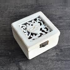 Decorative Ring Boxes Personalized Wedding Ring BoxRing Bearer Box Engagement Ring Box 80