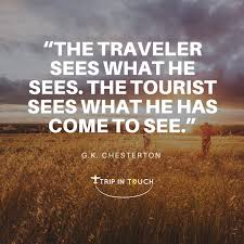 Chesterton Quotes Fascinating Trip In Touch Trip In Quotes G K Chesterton Trip In Touch