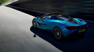 Light Blue Mclaren Mclaren 720s Spider Mclaren Automotive
