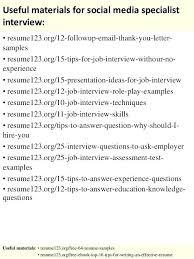 Sample Social Media Resume resume Social Media Specialist Resume 67