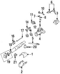 parts com® mazda b3000 steering column shaft oem parts diagrams 1994 mazda b3000 base v6 3 0 liter gas steering column shaft