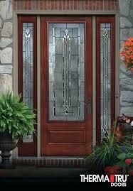 door stain 8 0 classic craft mahogany collection fiberglass therma tru storm doors screen latch design