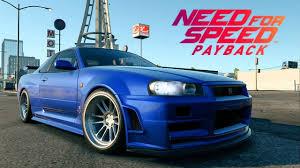 nissan skyline r34 paul walker. Delighful Paul Need For Speed Payback  Paul Walkeru0027s Nissan Skyline R34 GTR Fast And  Furious Movie Car In Walker L