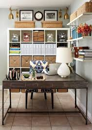pin it baskets on expedit bhg bookshelves office great