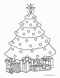 Christmas Tree Coloring Pages Coloring Book 29 Free Printable