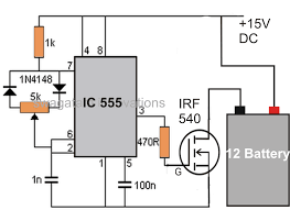 battery desulfator circuit explained electronic circuit projects a much simpler yet effective battery desulfator circuit