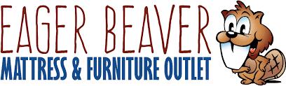 mattress king logo. Eager Beaver Mattress And Furniture Outlet Logo Mattress King Logo