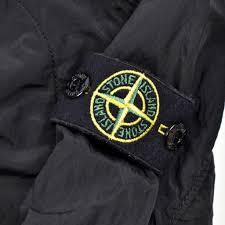 Stone Island junior black reflective logo overshirt jacket age 6 -  Archivio85