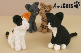 Free Crochet Cat Patterns Gorgeous Blog PlanetJune By June Gilbank AmiCats Crochet Patterns