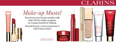Clarins makeup products