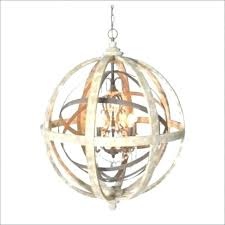 wood orb light round metal chandelier chandeliers orb light wood by with regard to black frame
