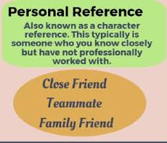 Whats A Personal Reference Referencing Your References Idaho Center Of Excellence