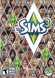 Sims 3 logo.