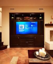 custom tv cabinet contemporary family room