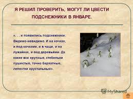 Презентация на тему По теме КАНДИДАТСКАЯ ДИССЕРТАЦИЯ ученика  4 и появились подснежники