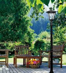 review of paradise gl23716bk solar street lamp post