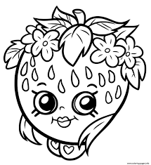 Shopkins Coloring Pages To Print Free Color Bros