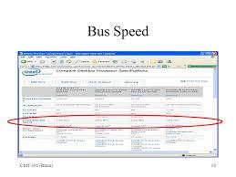 Computer Bus Speed Chart Csit 301 Blum 1 Processor Specs Csit 301 Blum 2 Pentium 4