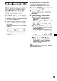 ajuste del ecualizador (eq3), 19 ajuste del ecualizador (eq3) sony Sony Explode Wiring-Diagram ajuste del ecualizador (eq3), 19 ajuste del ecualizador (eq3) sony