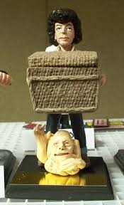 Clayguy.com, clay sculpture of Duane Bradley with Basket and Belial of  'Basketcase' | Clay sculpture, Motion, Motion picture