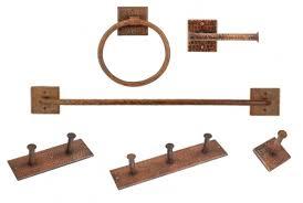 Copper Bathroom Accessories Sets Copper Bathroom Accessories Santa Fe Company Okc Copper Bathroom