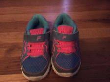 fila for toddlers. fila athletic toddler girls shoes size 10 blue and pink for toddlers o