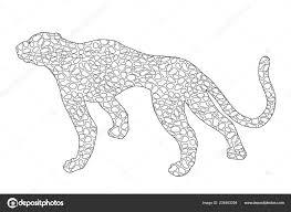 25 Idee Jaguar Dier Snelheid Kleurplaat Mandala Kleurplaat Voor