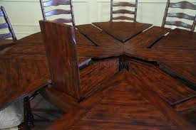 Fold In Half Round Table 62 78 Jupe Table For Sale Round To Round Country Dining Table