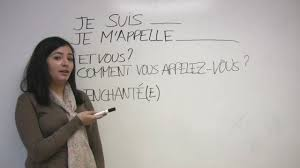 french for beginners introducing yourself in french