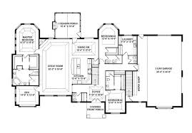 Home Plans With Open Floor Plans Single Story House Floor Plans Open Floor Plans For One Story Homes