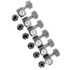 fender guitar parts fender locking tuners chrome 0990818100
