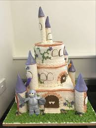Cake Design Decorating A 3 D Castle Cake Adult And Community