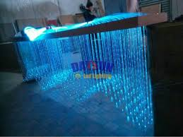 led fiber optic crystal ends 50pcs lot for end glow fiber cable light decoration