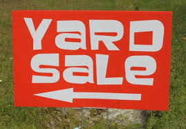 Image result for yard sale signs