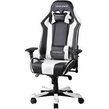 gaming chairs dxracer. Wonderful Chairs DXRacer King Series Gaming Chair  BlackWhite OHKF06NW On Chairs Dxracer E