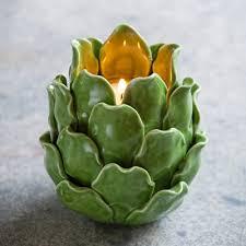 artichoke tealight holder