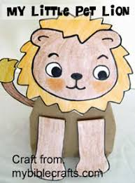 free printable bible lessons for preschoolers. Fine Printable My Little Pet Lion Craft  Daniel And The Liions Bible Lesson With Crafts  Activities And Free Printable Bible Lessons For Preschoolers O