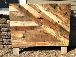 Etsy Pallet Furniture Fantastic Wood Headboard With Bench