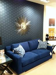 Navy Blue Furniture Living Room Dark Blue Living Room