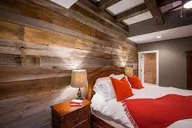 barn wood warmth in custom homes
