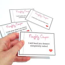 Example Of A Coupon Custom Naughty Coupon Book Sexy Coupons Last Minute Gift For Boyfriend