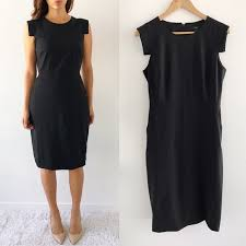 J Crew Dresses J Crew Resume Black Dress Poshmark Classy J Crew Resume Dress
