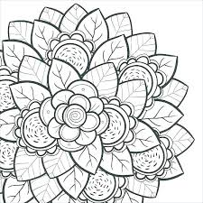 Hard Flower Coloring Sheets Flowers Healthy Really Pages