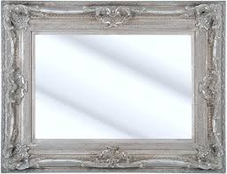 Como Silver Framed Ornate Bevelled Mirror 6 Sizes Click Image To
