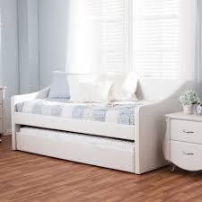 modern daybed. Baxton-Studio-Kallikrates-Modern-Daybed-with-Trundle-Bed Modern Daybed