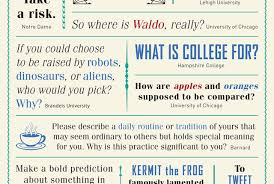 offbeat college essay topics