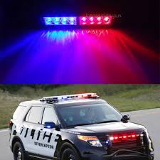 Purple Emergency Vehicle Lights Us 23 39 35 Off Xyivyg 8 Led Red Blue Car Police Dash Emergency Stobe Light Bar Warning Flashing Lamp In Signal Lamp From Automobiles Motorcycles