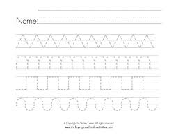 Writing Patterns New Preschool Writing Patterns Worksheets 48 Myscres