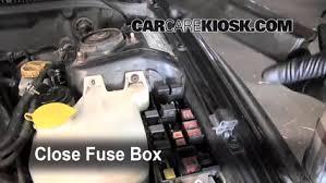 blown fuse check 2002 2003 subaru impreza 2002 subaru impreza 6 replace cover secure the cover and test component