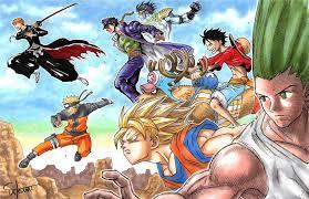 Anime Dragon Ball Naruto One Piece Wallpapers - Wallpaper Cave